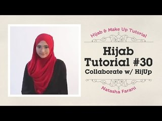 Hijab Tutorial - Natasha Farani (Collaborated with HijUp) #30
