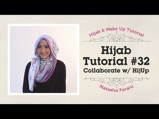 Hijab Tutorial - Natasha Farani (Collaborated with HijUp) #32