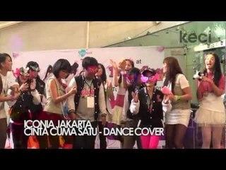 ICONIA  - Cinta Cuma Satu ( 7 ICONS dance cover )