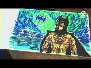 """Speed Drawing # 1 - """" Bummer Batman """""""