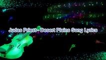 Judas Priest – Desert Plains Song Lyrics