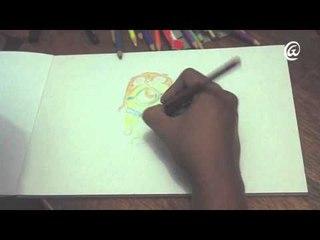 """Speed Drawing #2 - """" Minion wears an Owl Hat """""""