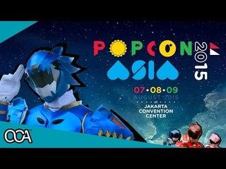 Launching Satokinger x Prabu at Popcon Asia 2015!