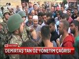 Selahattin Demirtaş Muş Varto'da 'Ak Parti 400 vekil için bütün ülkeyi yakıp yıkabilir'