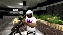 VanossGaming Gmod Sandbox   1v1 Sniper Battle! Garry's Mod  Call of Duty MW2 Parody Vanoss Gaming