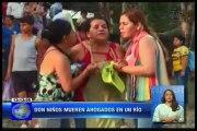 Dos niños mueren ahogados a orillas del rió Baba en Santo Domingo de los Tsáchilas