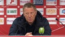 Réaction d'Alex Dupont après Stade Brestois 29 - RC Lens