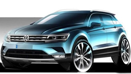 2016 Volkswagen Tiguan Previewed