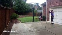 Ce joueur de Basket imite le champion NBA Carmelo Anthony et son jeu très spécial