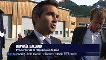 Sept alpinistes tués dans une avalanche dans les Hautes-Alpes