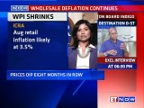 August WPI Inflation Less By 4.95% | Prices Dip Eight Months In A Row