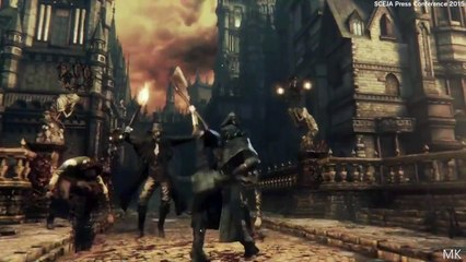 Bloodborne The Old Hunters DLC Expansion Trailer (TGS 2015)