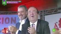 El baile desenfrenado de Miquel Iceta en el arranque de la campaña electoral en Cataluña