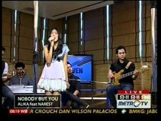 Alika ft Narest - Nobody But You (Live at 811 Show Metro TV) - Wonder Girls (Cover)
