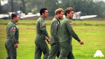 Prince Harry attends Battle of Britain commemorations