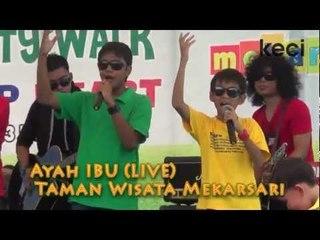 Super 7 dan Hati Band - Ayah Ibu (Akustik) di Taman Wisata Mekarsari