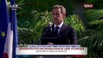 Lapsus de Nicolas Sarkozy : « La France a toujours été du côté des dictateurs »