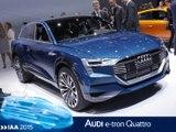 Audi e-tron quattro en direct du salon de Francfort 2015