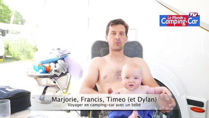Voyager en camping-car avec un bébé : pas un problème, d'après Francis et Marjorie