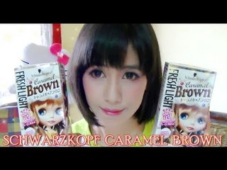 (Hair Journey) Brown Dolly Hair (Schwarzkopf Caramel Brown review)