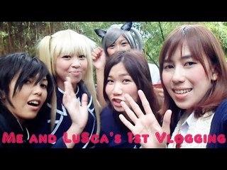 Me and Lumina Scarlet 1st vlogging