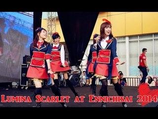 Lumina Scarlet at Ennichisai 2014 Vlog
