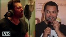 Finally Aamir REACTS to Salmans Main Hoon Hero Tera Song