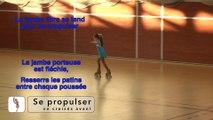 ARTISTIQUE -  EFPA - PATIN DE BRONZE - EN PATINS - PATINEUR CORRIGE