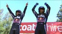 Sébastien Ogier a remporté sa troisième titre consécutif du Championnat du Monde des Rallyes FIA avec la victoire au Ral