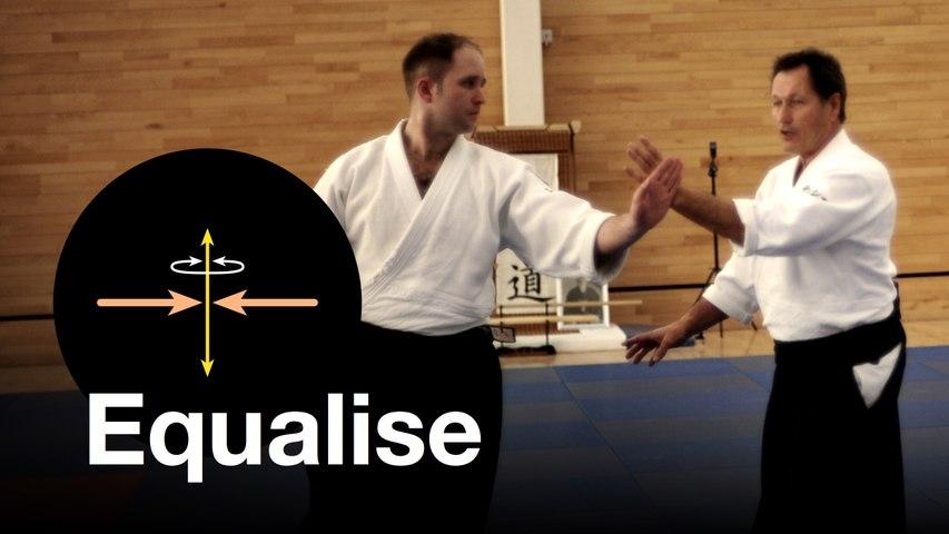 "Aikido: ""Equalising"". Christian Tissier Shihan"
