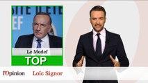 Le Top Flop: Pierre Gattaz dit oui à l'accueil des réfugiés / François Fillon privé de tribune à l'Assemblée
