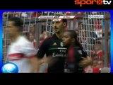 O bunu hep yapıyor!   İbrahimovic'den şık gol...