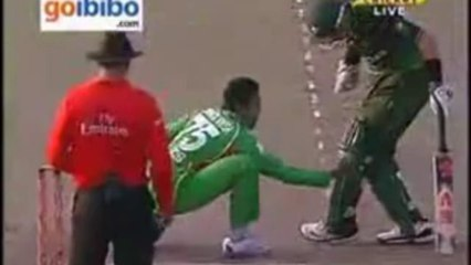 Most funniest Dismissal in Cricket history