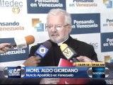 Nuncio Apostólico: Los pueblos de Colombia y Venezuela son hermanos