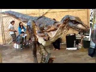 JTOKUCOSTUME Dinomatronic - Simple animatronic costume of Tyrannosaurus