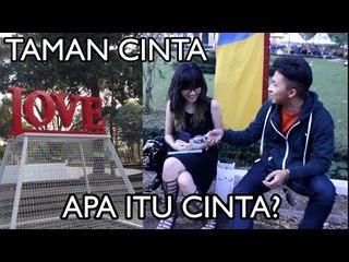 Apa itu Cinta?  Taman Cinta Taman Balaikota Bandung