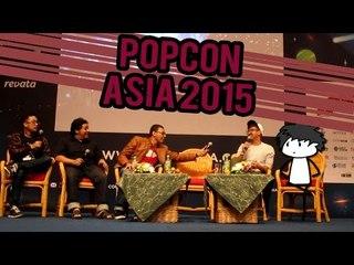 Ikutan Nangkring di Mainstage - POPCON ASIA 2015