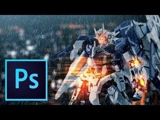Gundam x Battlefield Speedart