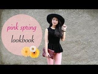 Spring Pink Lookbook