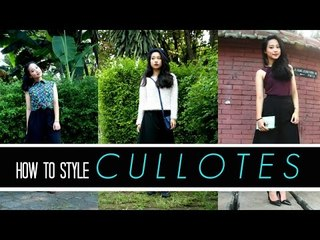 3 Different Ways to Style Cullotes