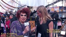 More behind the scenes of the 87th Academy Awards Sara Haines