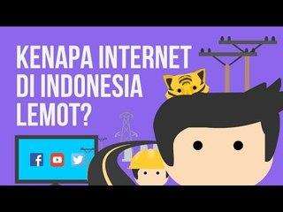 Kenapa Internet Di Indonesia Lemot?