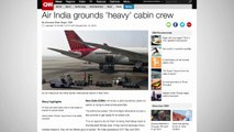 Air India To Ground 125 Flight Attendants If They Don't Get In Shape