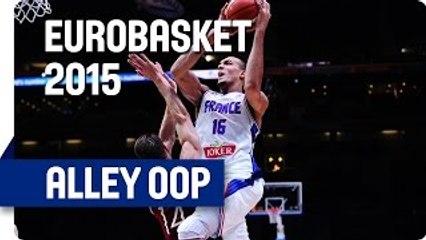 Amazing Alley Oop by Gobert - EuroBasket 2015