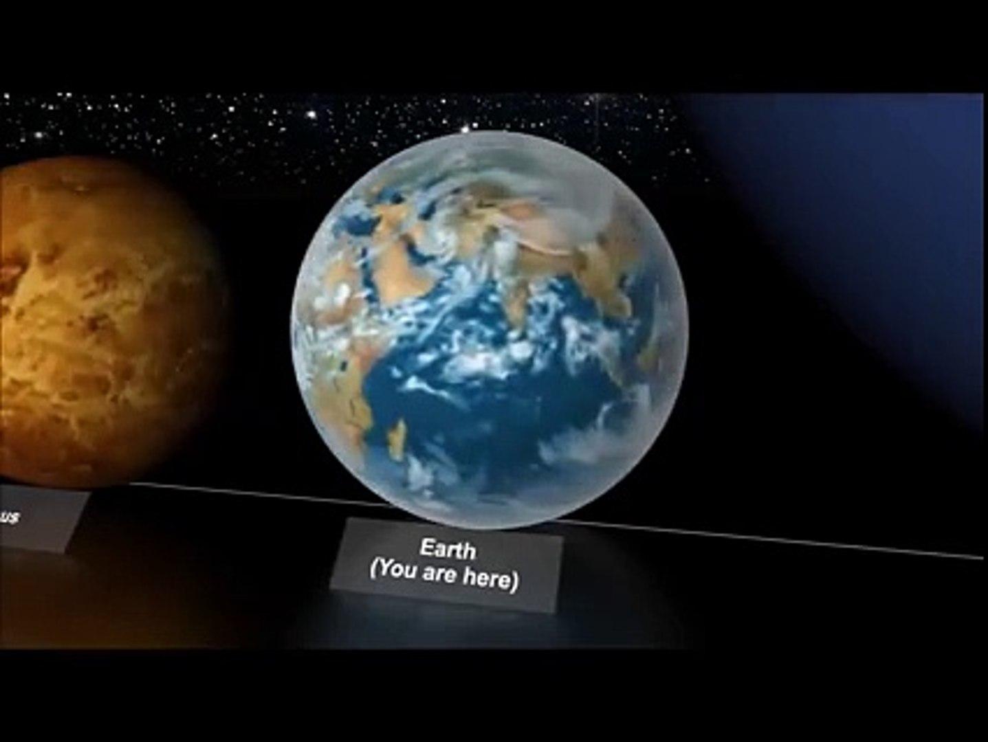 planets size comparison