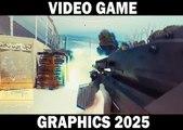 Découvrez à quoi va ressembler le graphisme des jeux vidéo en 2025!