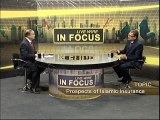 Takaful (Islamic Insurance) Dr.Syed Arif Hussain C.E.O Takaful Pakistan Ltd. in Business Plus Live Show 'In Focus'.