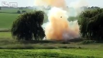 Blowing Up A Car Stuffed With Explosives