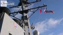 USS McCampbell, USS Shiloh, USS Lassen, USS Curtis Wilber, ROKN Sejong the Great