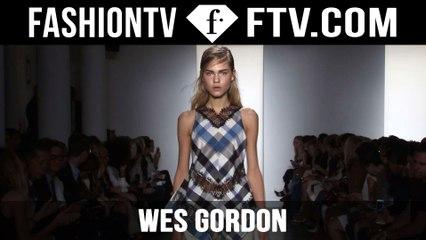 Wes Gordon Spring/Summer 2016 | New York Fashion Week NYFW | FTV.com